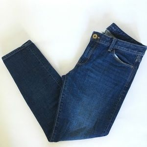 BANANA REPUBLIC// Skinny fit denim blue jeans 30